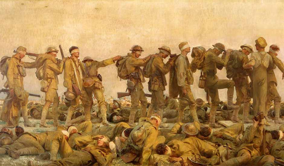 Sargent - Gassed - 1919