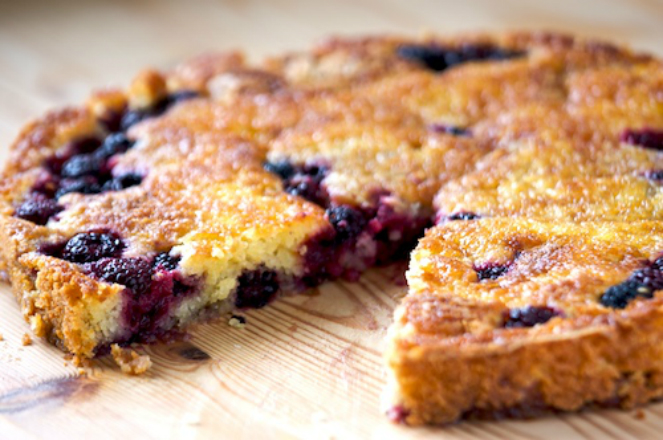 Blackberry-Cake