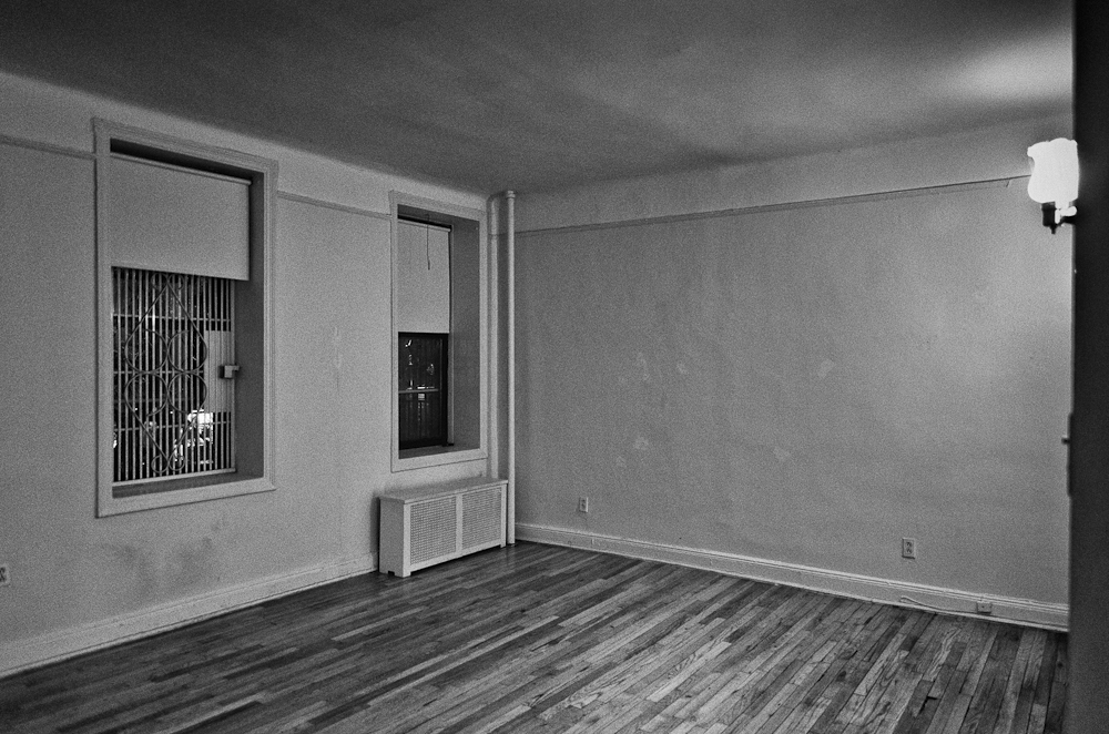 Empty apartment W 106th