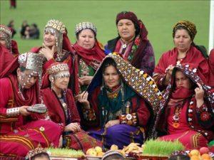 نوروز در ترکمنستان