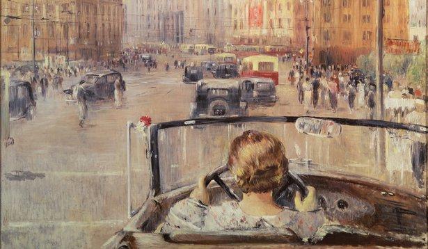 The New Moscow, 1937, Pimenov, Yuri