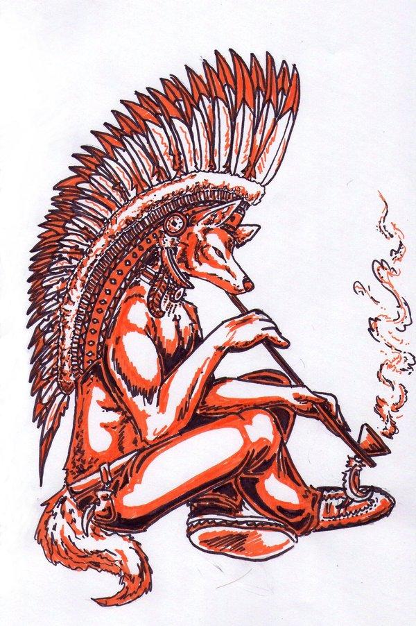 Native_American_Coyote_by_Raenyras
