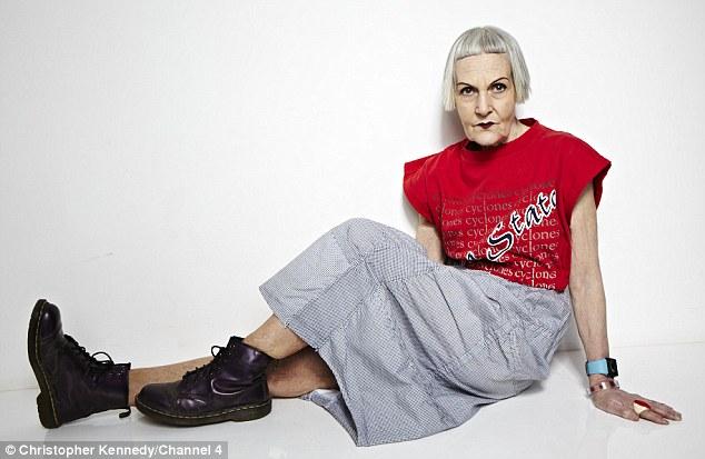 Daphne Selfe - مسن ترین مدل جهان - 85 ساله