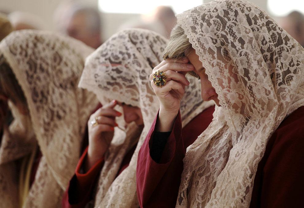 اردن- زنان گروه کُر افران معصوم AP Photo/Mohammad Hannon