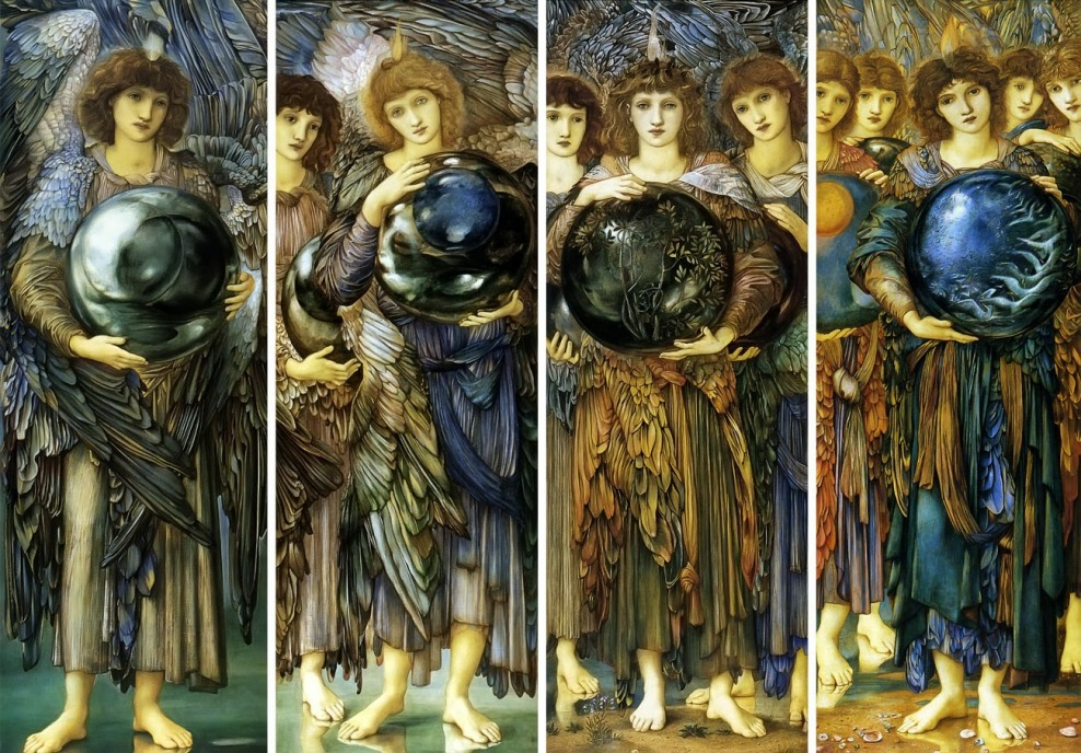Edward Burne-Jones, The Angels of the Creation, 1895