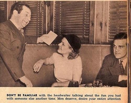 با گارسن بگو بخند نداشته باش