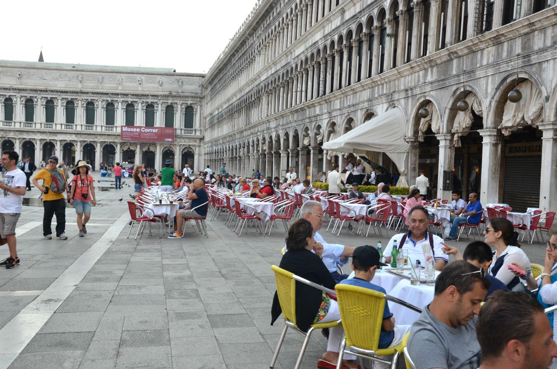 بخشی از میدان سنت مارکو