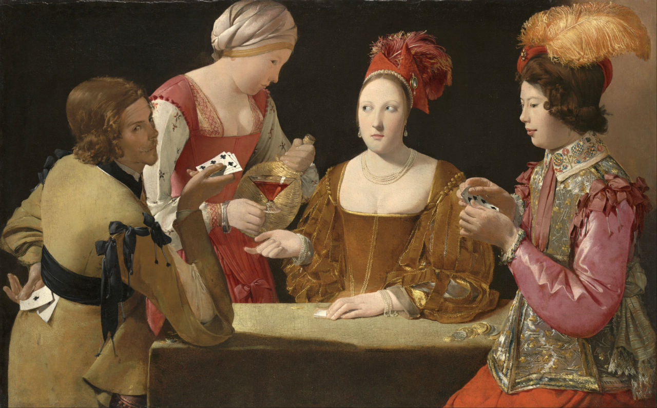Georges de La Tour The Cheat with the Ace of Clubs