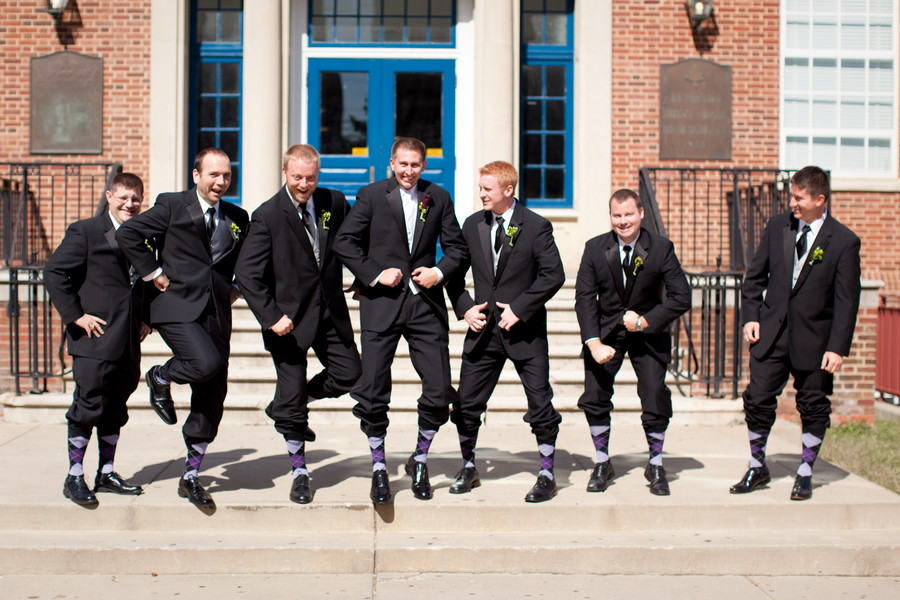 Classic-Red-White-Washington-DC-Wedding-Groom-Groomsmen-Socks