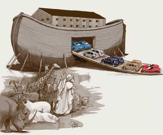 hansson sweden noah car animal-M