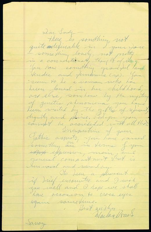نامه مارلون براندو