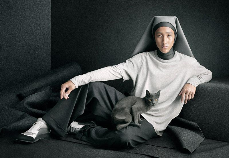 Masculine Nun