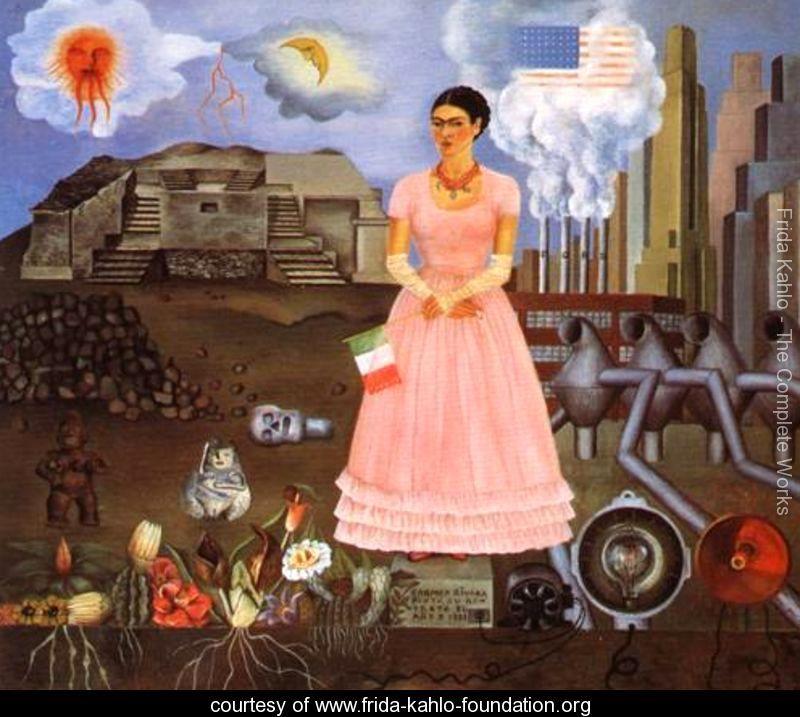 Self-Portrait-1932 Frida Kahlo
