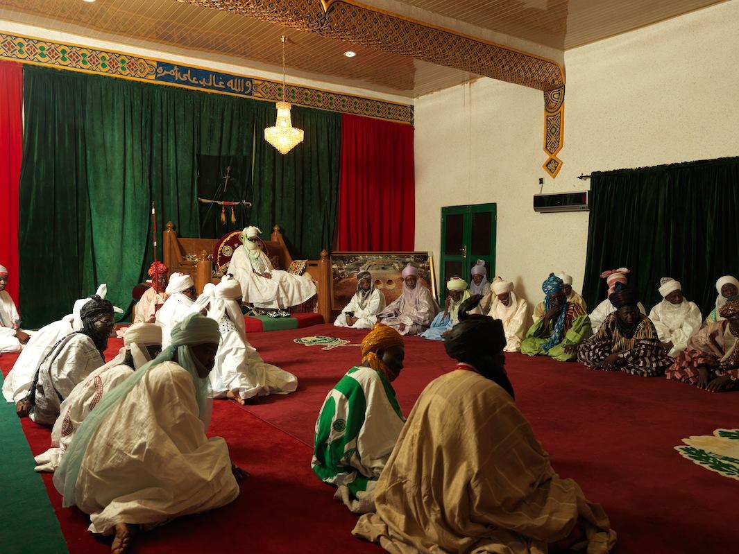 The Emir of Kano Alhaji Ado Bayero Reception
