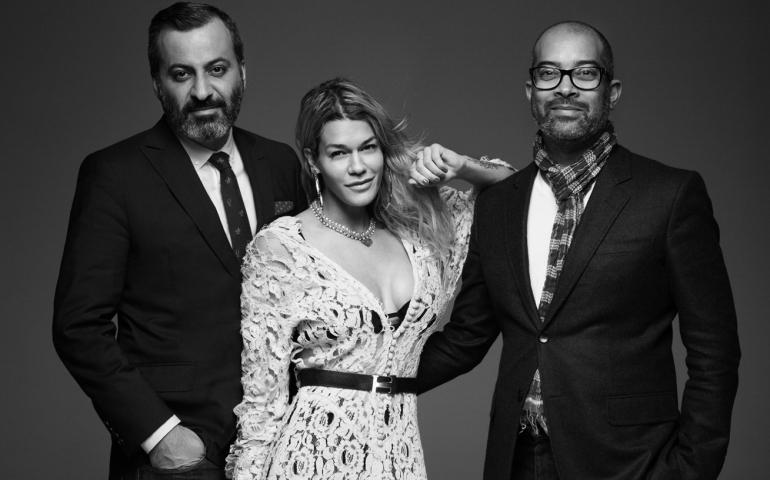 Jenné Lombardo, Mazdack Rassi & Keith Baptista