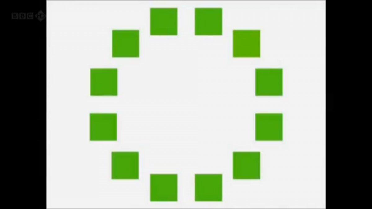 کدام مربع با بقیه فرق دارد؟