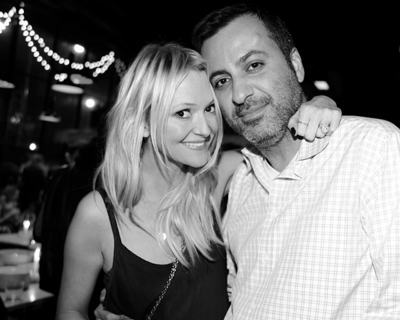 Mazdack Rassi and his wife, Zanna Roberts