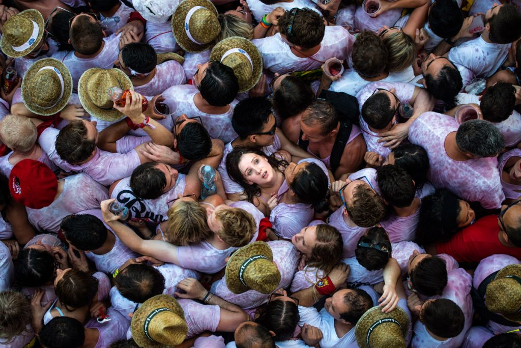 Running of the Bulls 2015  The Fiesta de San Fermin