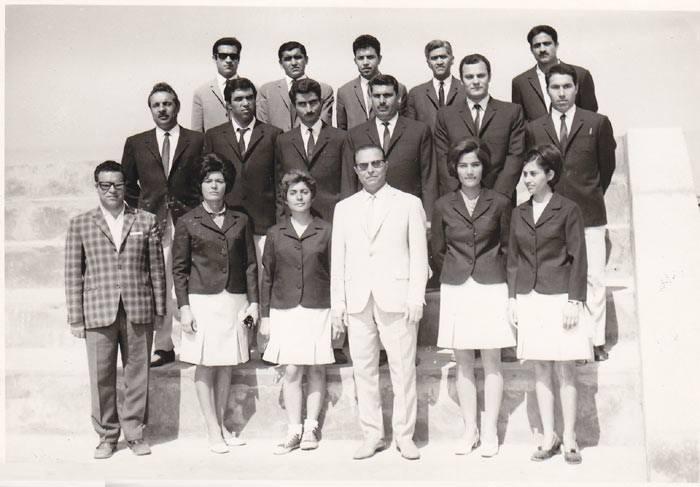 دبیرا ورزش کرمانشاه 1347