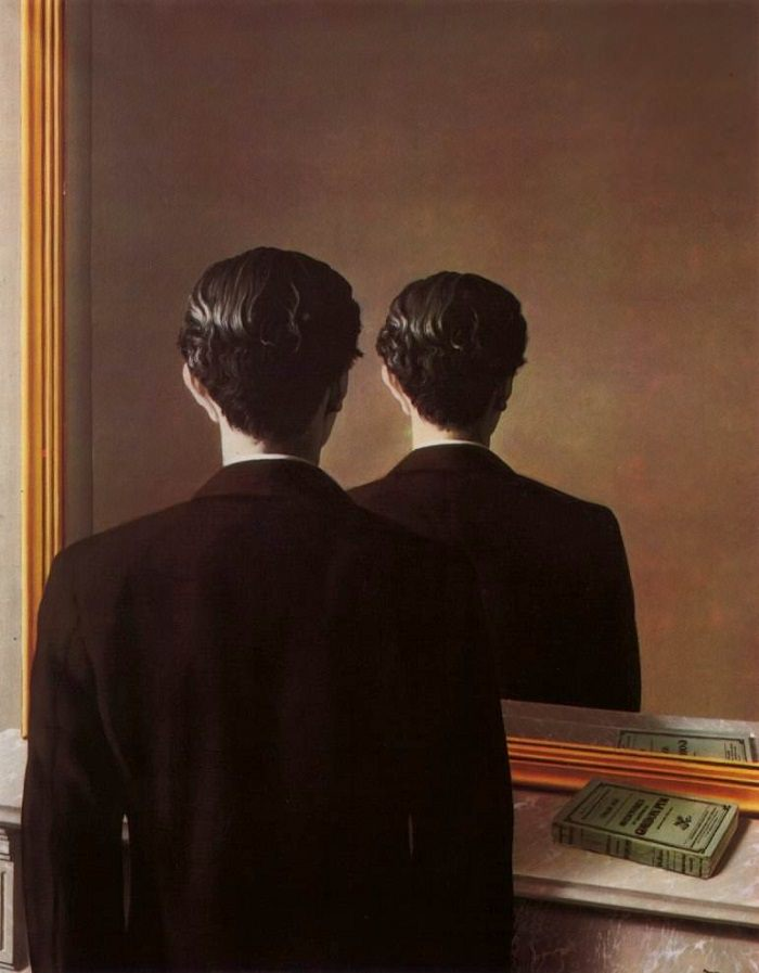 not-to-be-reproduced - Rene Magritte