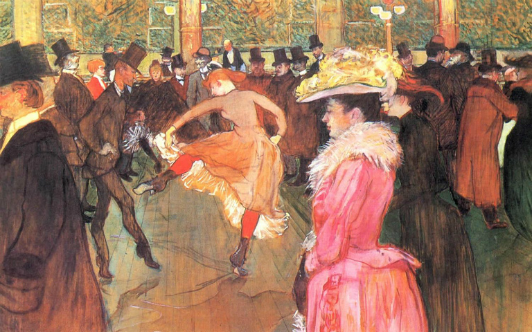 HENRI-DE-TOULOUSE-LAUTREC-At-the-Moulin-Rouge-1890