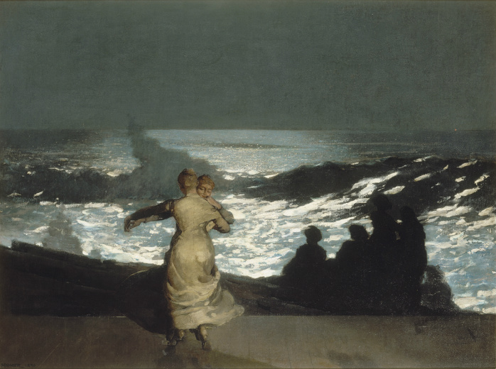 WINSLOW-HOMER-Summer-night-1890