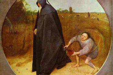 Bruegel. The Misanthrope. 1568