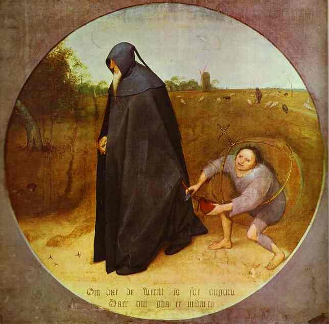 Bruegel. The Misanthrope. 1568