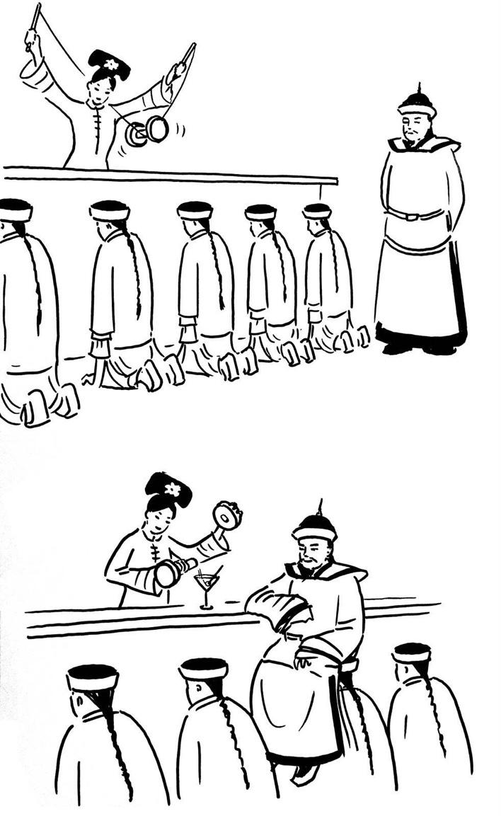 کاریکاتور روز – یک چینی بامزه و رند