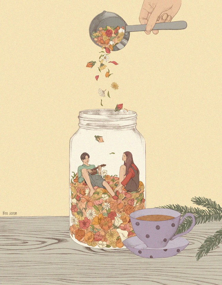 artwork by heo jiseon