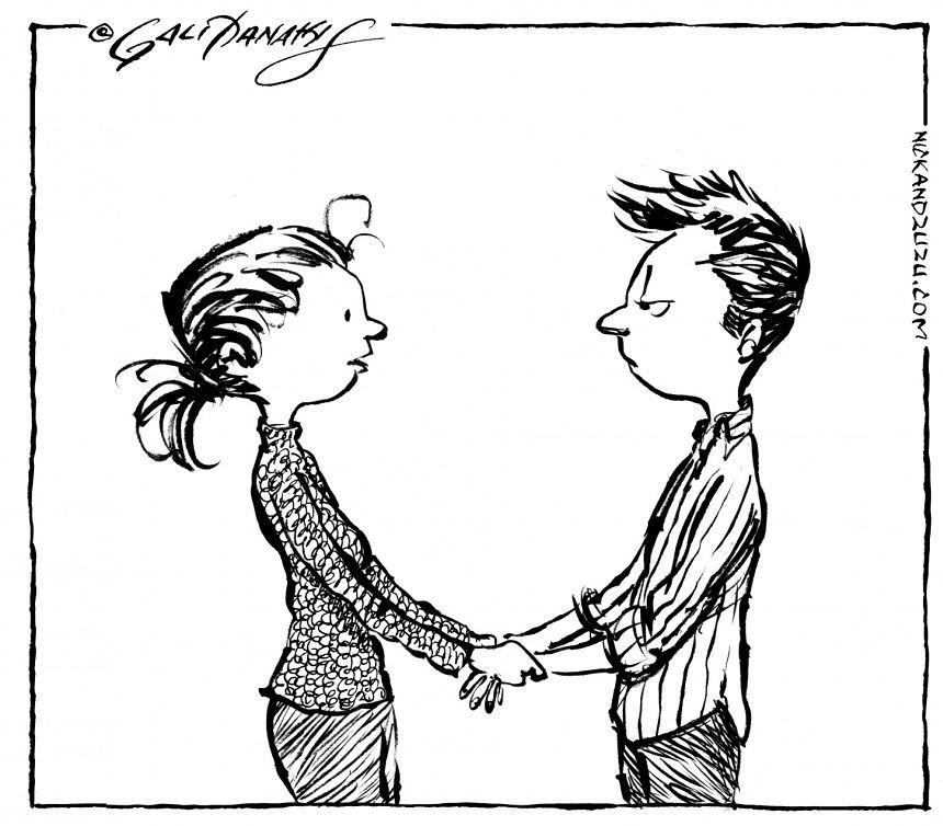 کاریکاتور روز – هیچ جور دیگه نمی خوامت جز همین که هستی فقط …