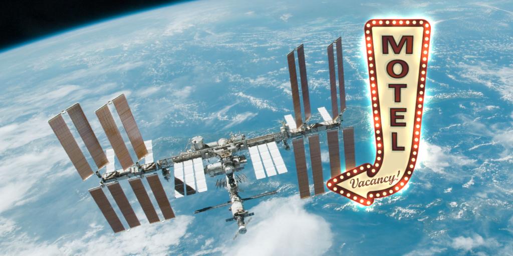 ناسا یک هتل فضایی میسازد