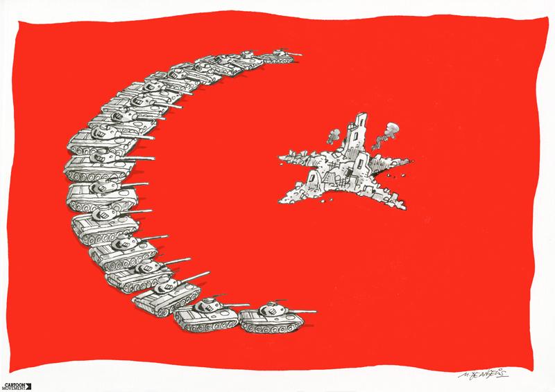 کاریکاتور روز – پرچم جدید ترکیه